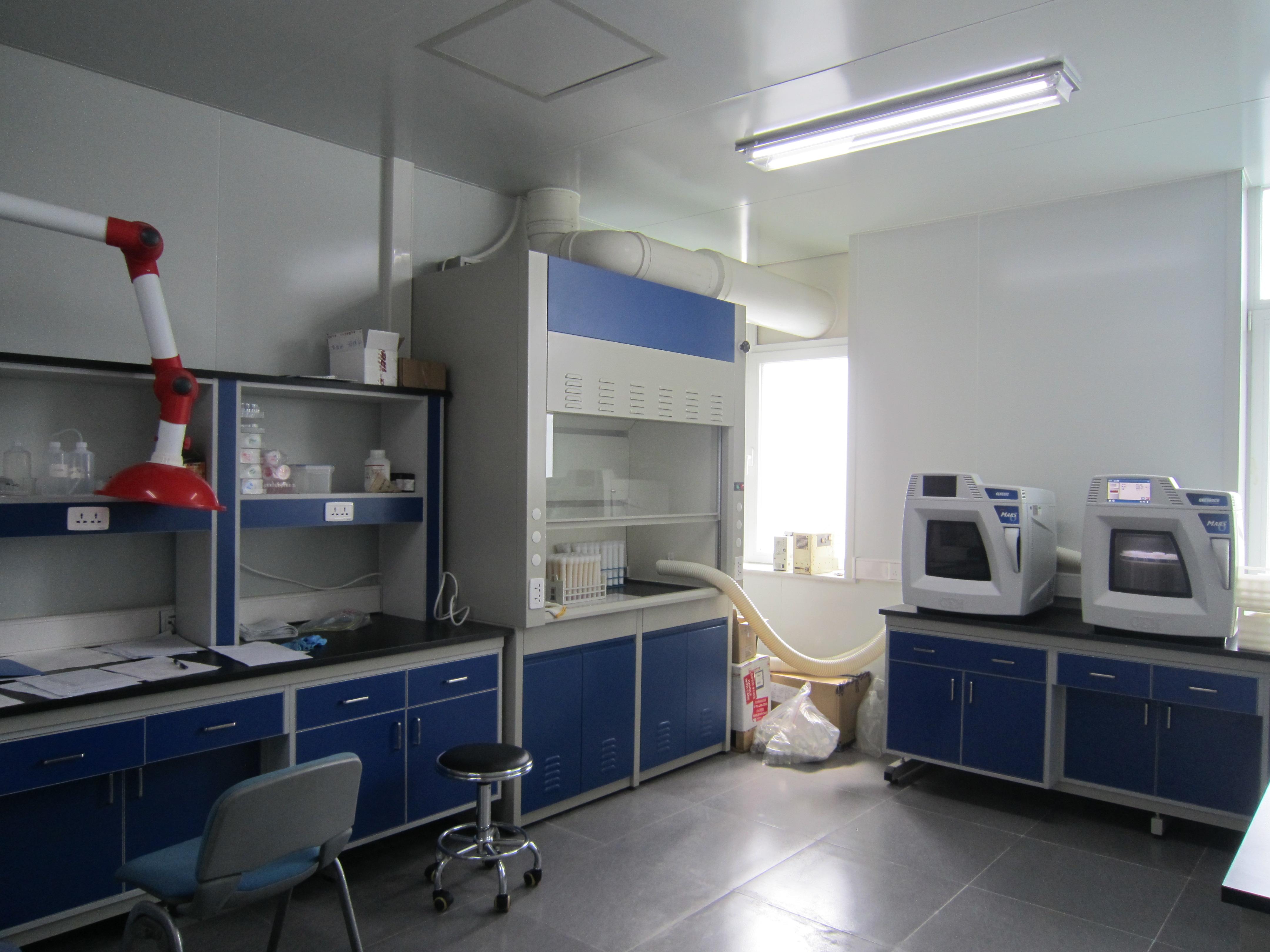 大气颗粒物前处理实验室