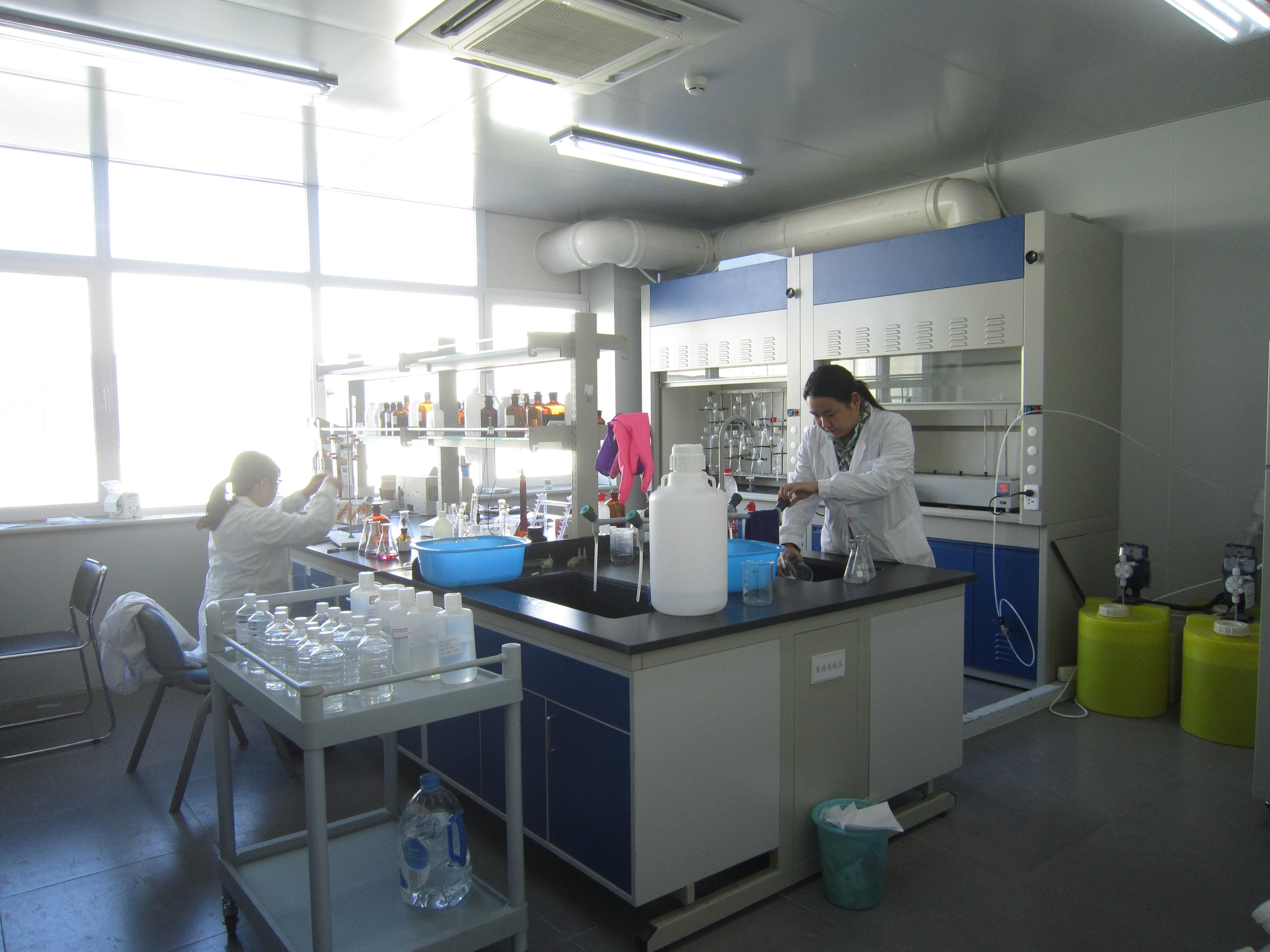 废水检测过程