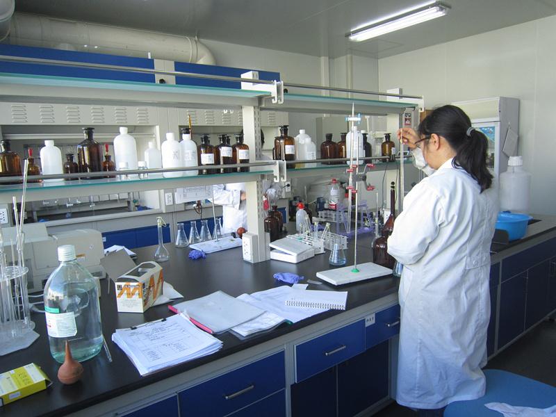 实验室化分组水质分析